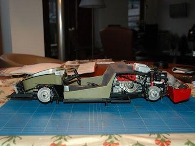 Mini Ferrari Model