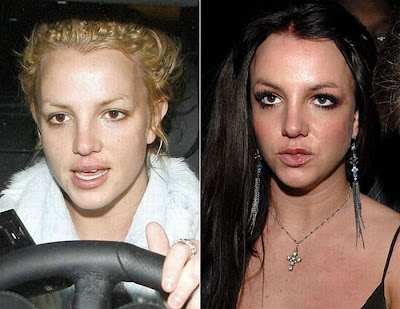 celebraties without makeup. Stars without makeup - 34 Pics