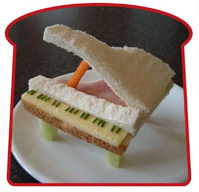 24 bentuk Sandwich yang Unik dan Lucu