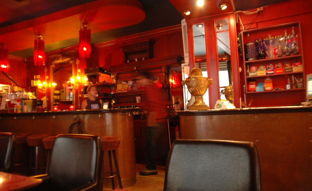 Bullwackie Coffee Shop Menu