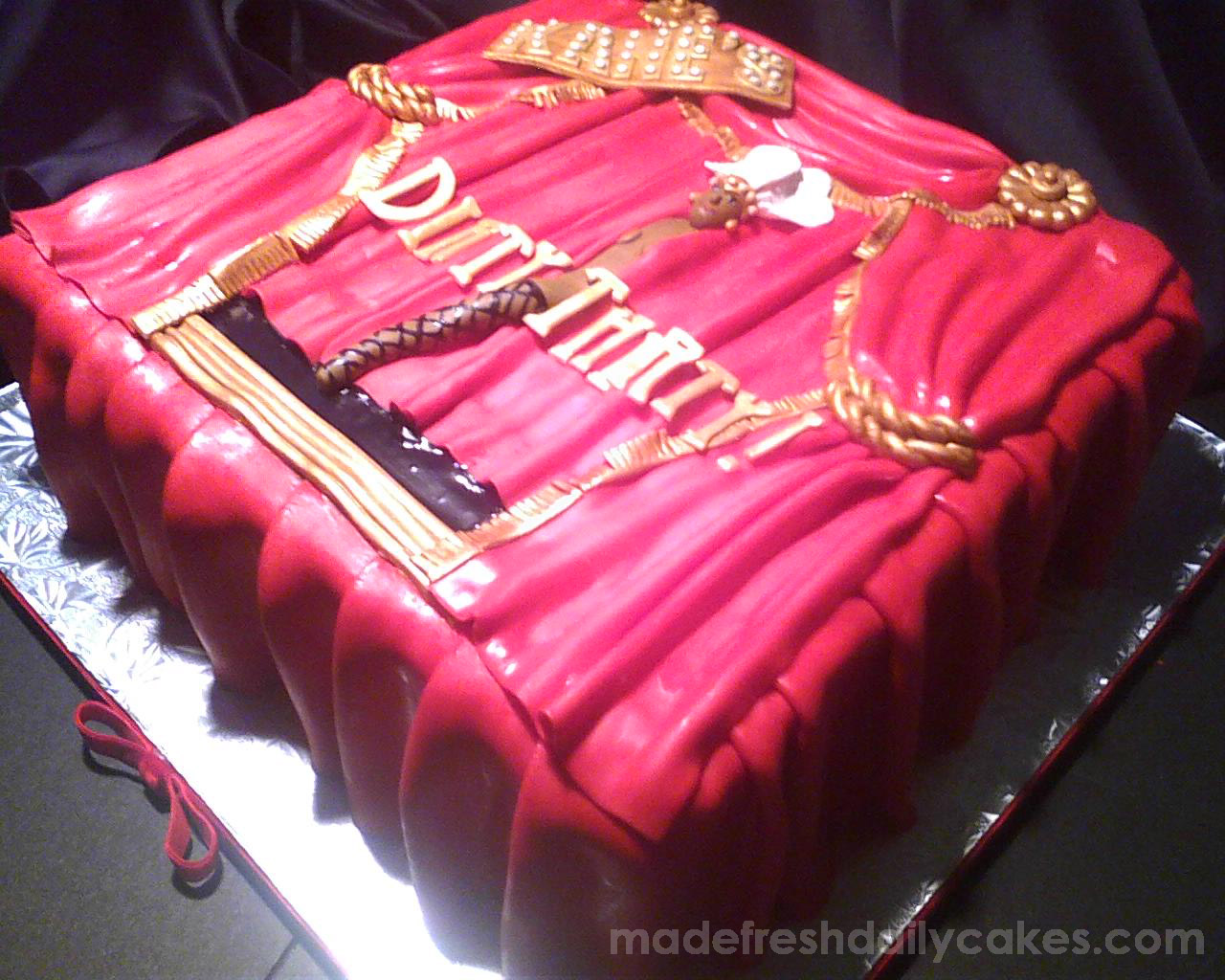 Kanes Dirty Thirty Cake