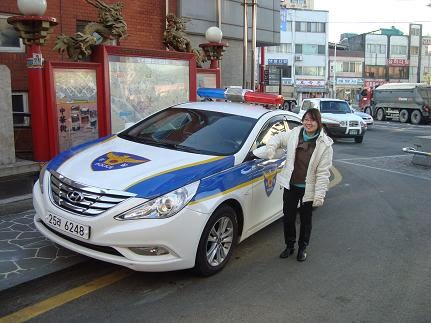 Korean Police Car