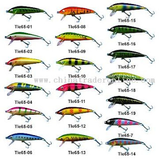 How to fish for Types of fishing lures
