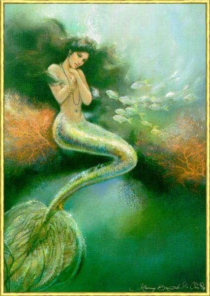 Magic creatures sirene e tritoni - Immagini della vera sirena ...