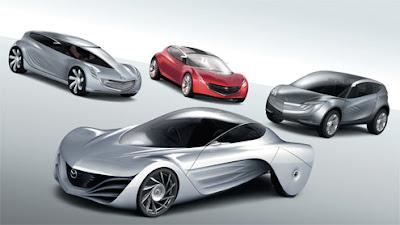 New futuristic Mazda 1