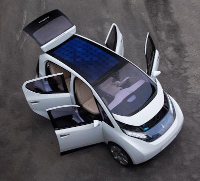 Pininfarina-Bollore B0 Electric Compact