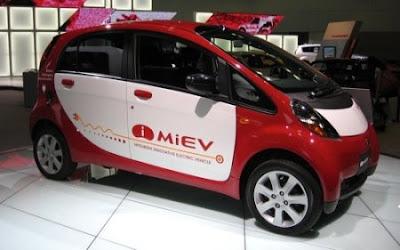 Mitsubishi Testing Electric i-MiEV