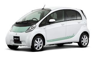 Mitsubishi i-MiEV All-Electric RWD Minicar