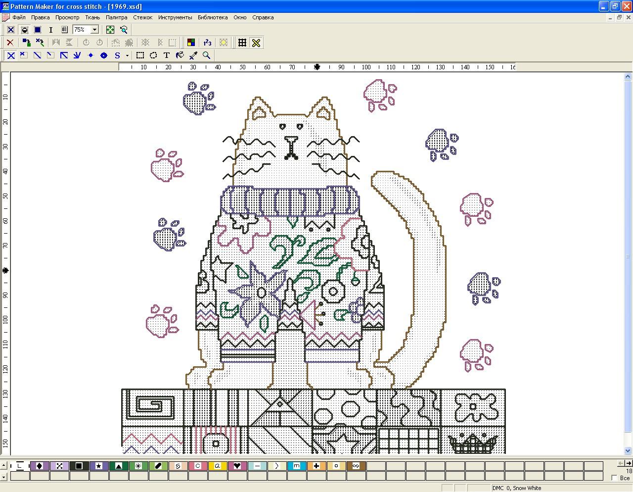 Схема для фото pattern maker