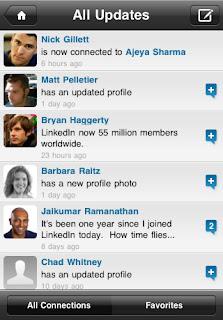 LinkedIn Latest Version iPhone App