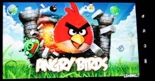 Angry Birds On Galaxy Tab