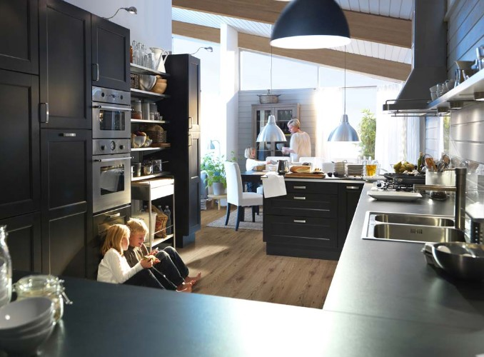 12 mod les de cuisines design le blog de loftboutik. Black Bedroom Furniture Sets. Home Design Ideas