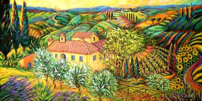 """""""View From Il Borghetto"""""""