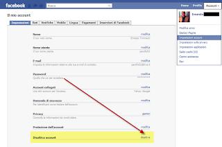 facebook profilo precedente