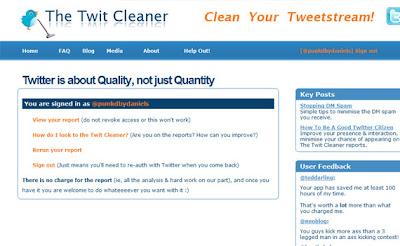twitter cleaner