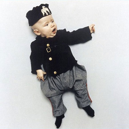 Artist Mom Dressed Her Baby As World Worst Dictators