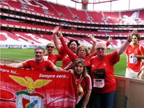 Estes amigos que conheci são um grande exemplo de dedicação ao Benfica