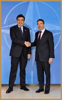 Mikheil Saakashvili & Anders Fogh Rasmussen, 25.03.2010 (c)NATO