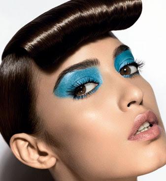 black eyeshadow makeup. Micky#39;s Guide: Blue Eyeshadow.