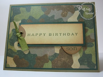 Stamping with serendipity camo birthday card for an outdoorsman camo birthday card for an outdoorsman bookmarktalkfo Image collections