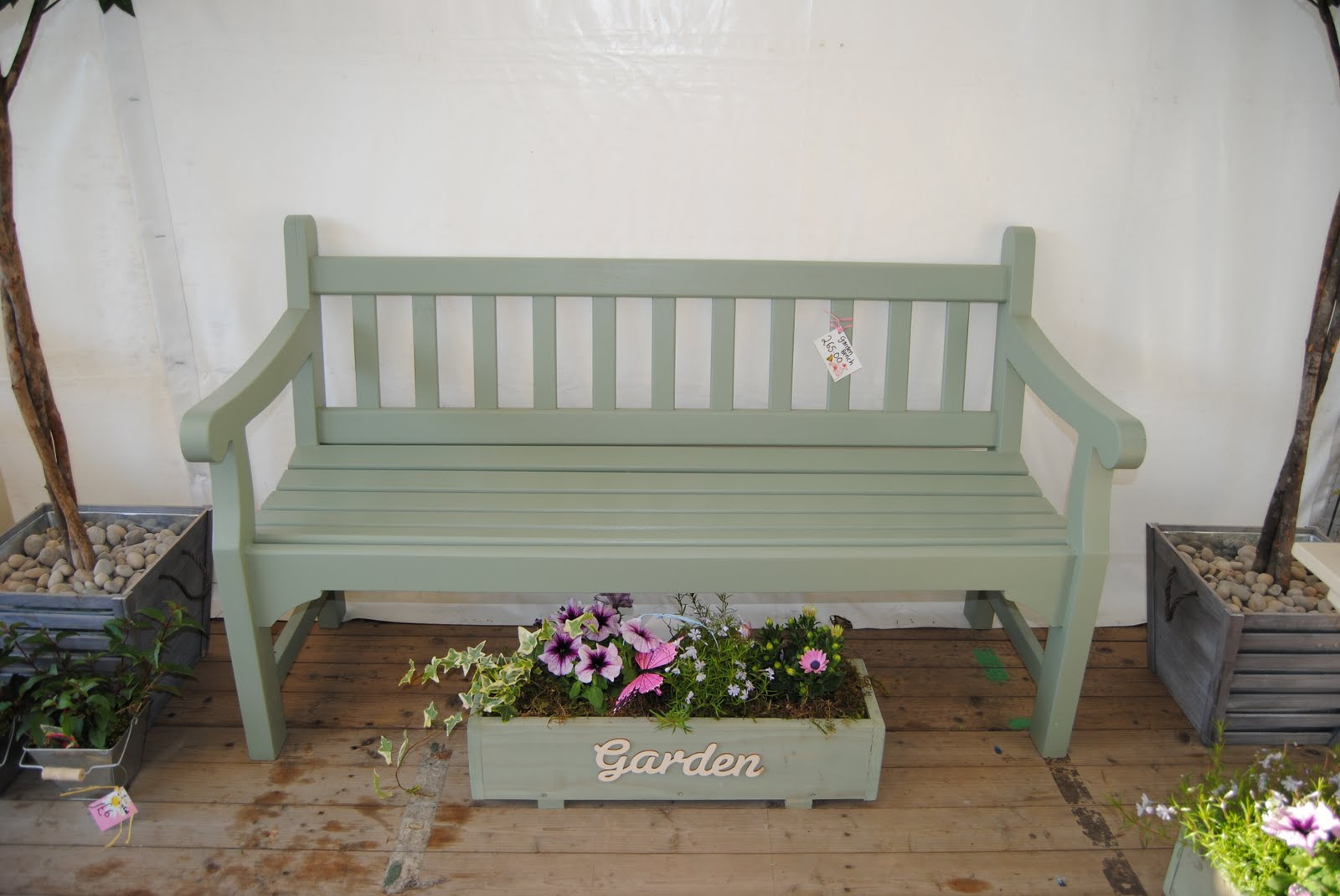 Ideas for painting your garden shed - Bench Painted With Cuprinol Garden Shades In Willow For The Cottage Pinterest Garden Shade Gardens And Garden Ideas