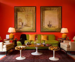 Interiorismo blog interiores anaranjados for Colores rusticos para interiores