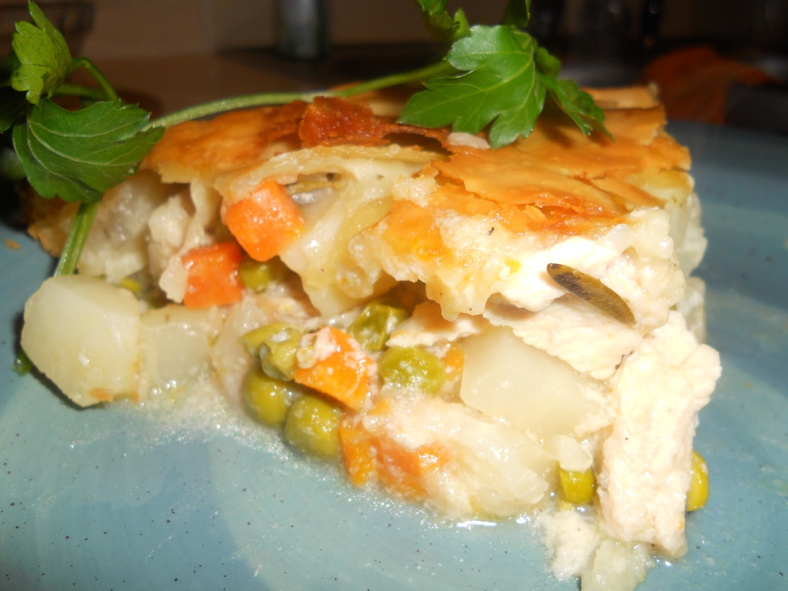 Anyone Can Cook!: Creamy Chicken Pot Pie