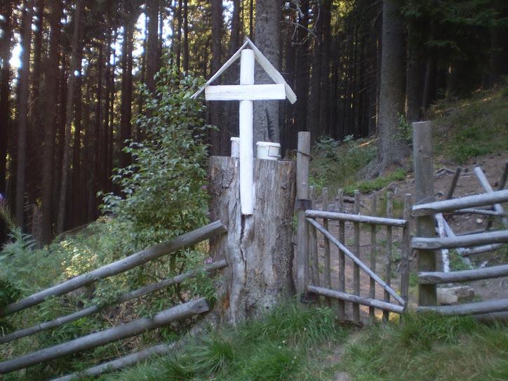 Crucea lui Dăncuş din Munţii Coziei