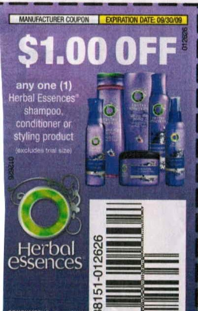 herbal essences coupons