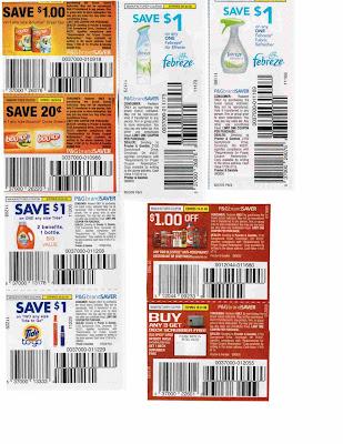 P and g saver printable coupons