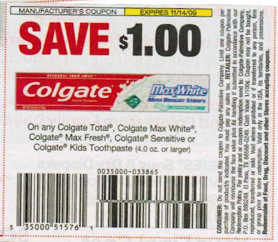 Tom's toothpaste coupon 2018