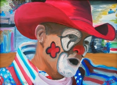 Rodeo Clown Faces http://redsoxdad.blogspot.com/2009/10/day-3-of-red-sox-off-season.html
