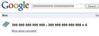 Google funny calcuator 4