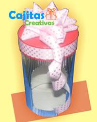 Caja Decorativa para Regalos en corrugado