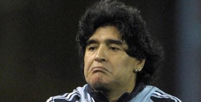 Maradona rechaza amistoso con Sudafrica