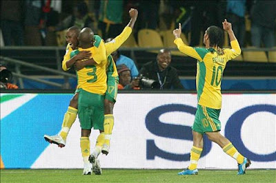 Sudafrica vence a Jamaica