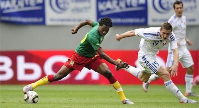 Camerun empata con Eslovaquia