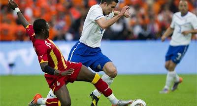 Holanda vencio a Ghana