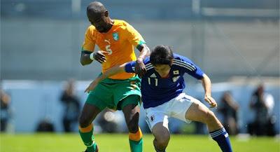 Costa de Marfil vencio a Japon