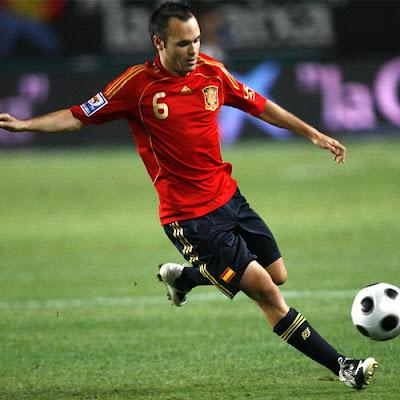 Andres Iniesta lesionado