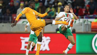 Costa de Marfil empata con Portugal