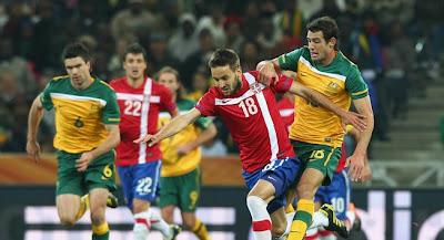 Australia vencio a Serbia