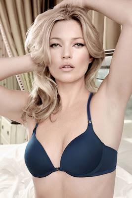 Kate Moss para Valisere Underwear