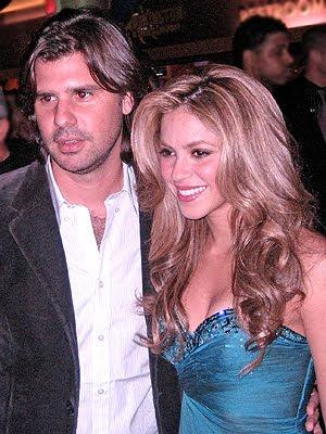 Shakira y Antonio de la Rua se separaron