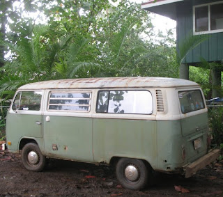Old VW Bus on Kauai