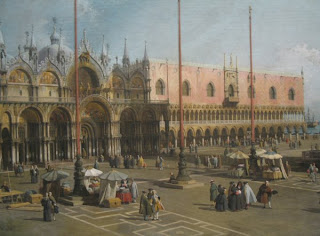 Canaletto, The Square of Saint  Mark's, Venice, National Gallery of Art