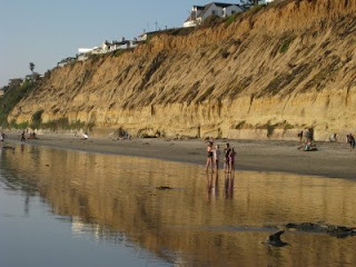 Beach Scenes in Leucadia on Labor Day