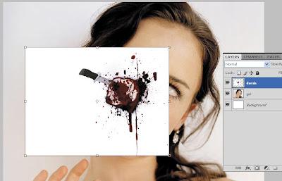 TUTORIAL :Bikin Karakter HOROR dengan Photoshop