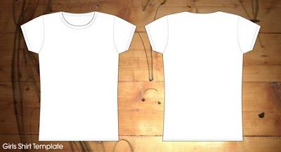 25 Template T-shirt Gratis untuk Preview Desain Kaos ~ Desain Grafis