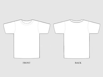 25 Template T-shirt Gratis untuk Preview Desain Kaos | desainstudio ...